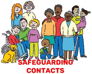 Safeguarding contact link