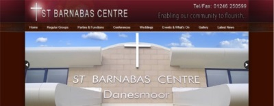 St. Barnabas Centre website lonk